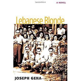 Blonde libanaise