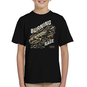 Indvendige Beast Trex mund Kid's T-Shirt