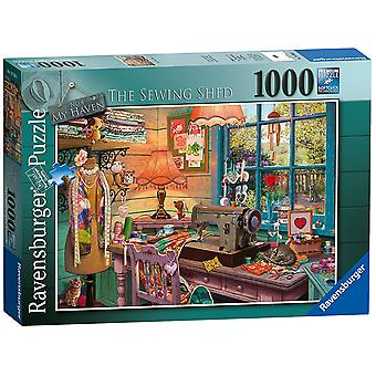 Ravensburger My Haven No 4. The Sewing Shed 1000pc Jigsaw