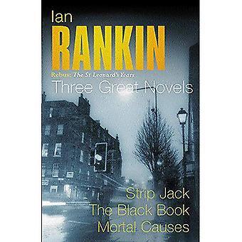 Trois grands romans: Strip Jack / The Black Book / Causes mortel