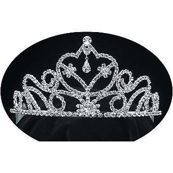 Tiara 3 In Rhinestone Silver For All