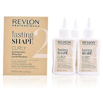 Revlon Lasting Shape Curling Lotion Natural Hair 3x100 ml (Hair care , Styling products)