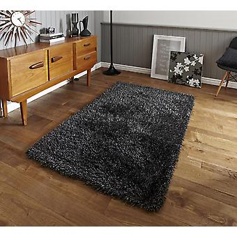 Monte Carlo Gris Rectangle Tapis Plaine / Presque Plaine Rugs
