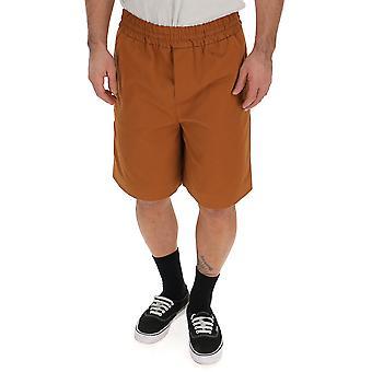 Acne Studios Brown Cotton Shorts
