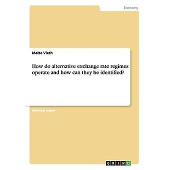 How Do Alternative Exchange Rate Regimes Operate and How Can They Be Identified by Vieth & Malte