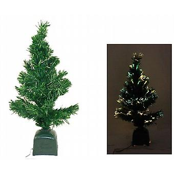 Faser-Optik-CHRISTMAS TREE 60CM - grün 2 Pack - (7007)