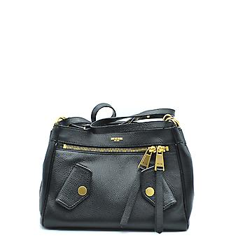 Moschino Black Leather Shoulder Bag