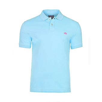 Slim Fit Plain Polo - Sky Blue