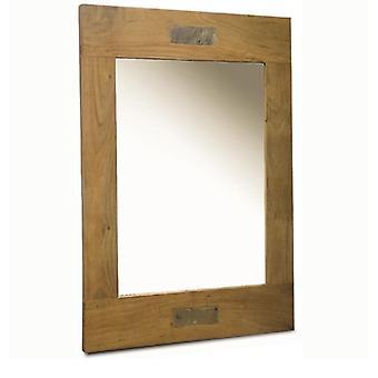 Tokyo Slate Acacia Mirror
