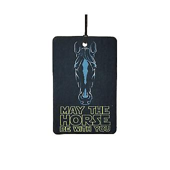 May The Horse Be With You Car Air Freshener