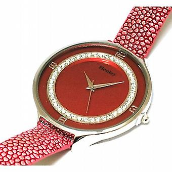 Henley Glamour Ice Diamante Crystal Pink Strap Ladies Fashion Watch H06030.5