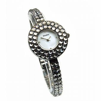 Henley Glamour Bling Gun Crystal Watch