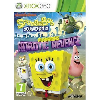 Spongebob Squarepants Planktons Robotic Revenge (Xbox 360) - Factory Sealed