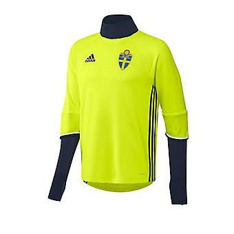 2016-2017 Schweden Adidas Training Top (gelb)