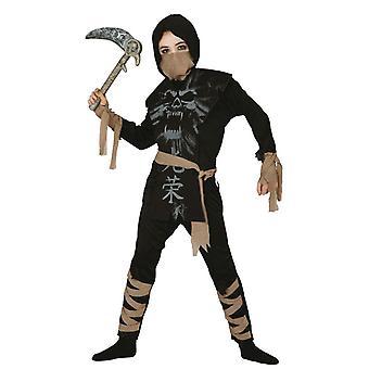 Chicos fantasma Ninja Samurai traje de disfraces