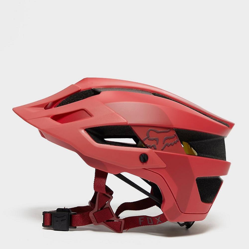 Nouveau Fox Flux MIPS Conduit Bike Cycling Helmet rouge