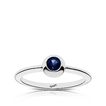 Washington Nationals - Washington Engraved Dark Sapphire Ring