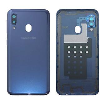 Samsung GH82-20125C Battery Cover Cover for Galaxy A20E A202F+ Glue Pad Blue New
