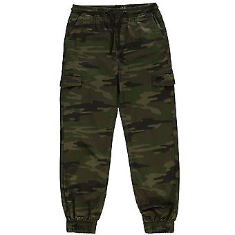 No Fear Boys All Over Camo Print Trousers Junior Casual Bottoms Pants Kids