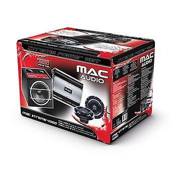 Mac audio MAC Xtreme 4000, speaker, subwoofer and amplifier, 1 set of new goods