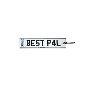 AAF - Best Pal License Plate Car Air Freshener
