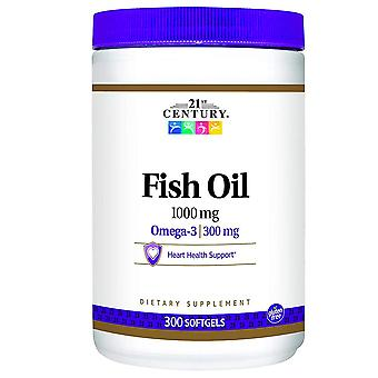 21st century fish oil, 1000 mg, softgels, 300 ea