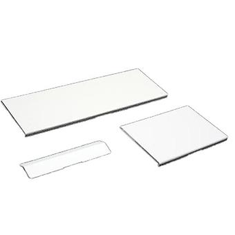 3 in 1 replacement door cover flap set for nintendo wii console repair parts - white