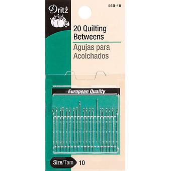 Betweens Hand Needles Size 10 20 Pkg 56B 10