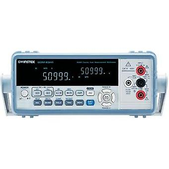 Bench multimeter digital GW Instek GDM-8341 Calibrated to: Manufacturer standards CAT II 600 V Display (counts): 50000