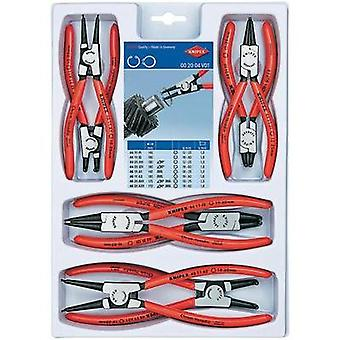 Circlip pliers set Suitable for Outer and inner rings 19-60 mm, 12-25 mm 10-25 mm, 19-60 mm Tip shape Straight, 90° angl