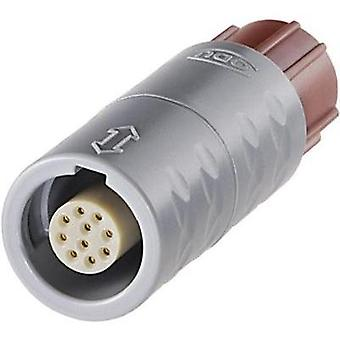 ODU K11M07-P10LCC0-0000 MEDI-SNAP Circular Connector With Push-pull Lock Nominal current: 2.75 A Number of pins: 10