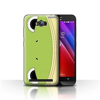 STUFF4 Case/Cover for Asus Zenfone Max ZC550KL/Frog/Animal Stitch Effect