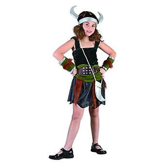 Dimasa Viking Costume Size 7-9 years (Kostuums)