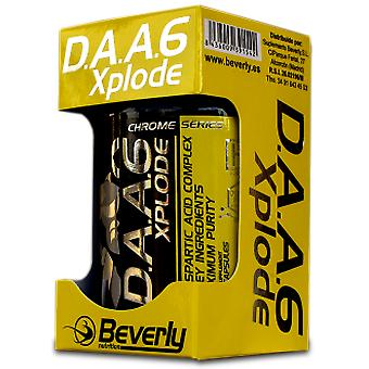 Beverly Nutrition DAA6 Xplode (D-Aspartic Acid Complex) 120 Capsules