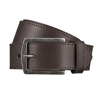 LLOYD Men's belt belts men's belts leather belt Brown 3032