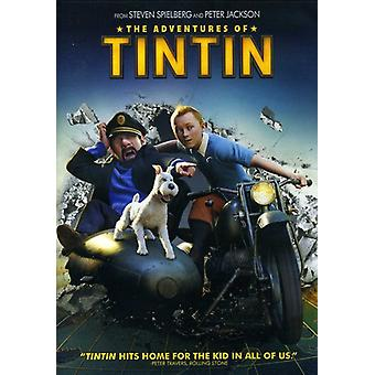 Adventures of Tintin [DVD] USA import