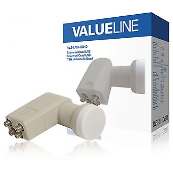 ValueLine Quad Universal LNB 0.3 dB
