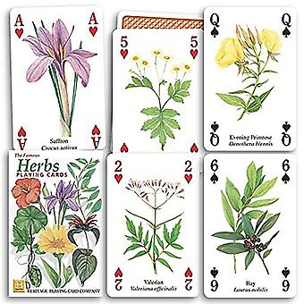 Herbs set of 52 playing cards (+ jokers)    (hpc)