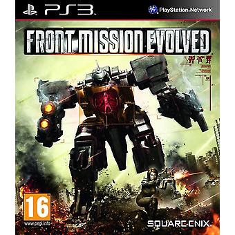 Front Mission Evolved PS3 Game