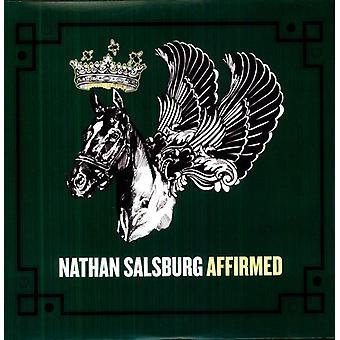 Nathan Salsburg - bekræftede [Vinyl] USA Importer