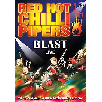 Red Hot Chili Pipers - Blast Live [DVD] USA importerer