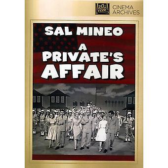 Privates Affair [DVD] USA import