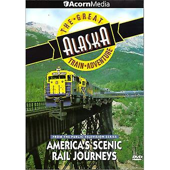 Great Alaska Train Adventure [DVD] USA import