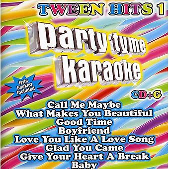 Party Tyme Karaoke - part Tyme Karaoke: Vol. 1-Tween Hits [CD] USA importerer