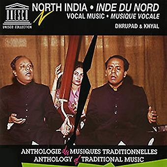 India del Nord: Vocal Music Dhrupad & Kyhal / Var - India del Nord: Vocal Music Dhrupad & Kyhal / import USA Var [CD]