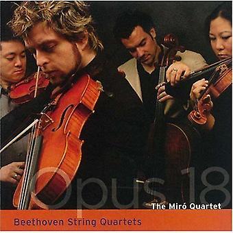 Larsen Beethoven - Beethoven: Strygekvartetter, Op. 18 [CD] USA import