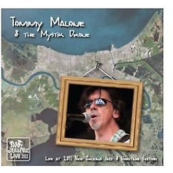 Malone, Tommy & Mystik Drone - Live på Jazz Fest 2011 [CD] USA import