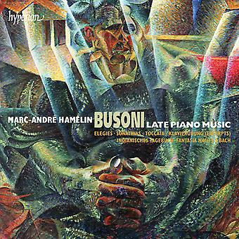 F. Busoni - Busoni: Late Piano Music [CD] USA import