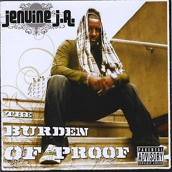 Jenuine J.a. - bevisbyrde [CD] USA import