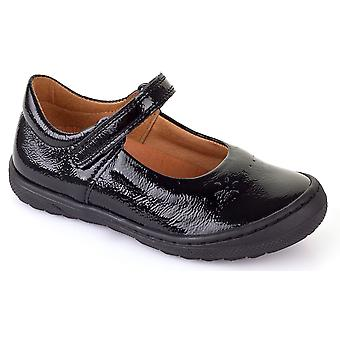Froddo Girls G3140053-1 School Shoes Black Patent
